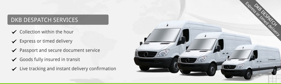 DKB Despatch Sameday Couriers London